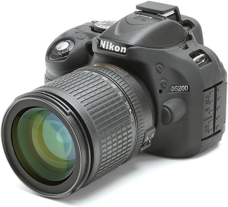 Easycover ECND5200 - Funda de Silicona para Nikon D5200, Color ...
