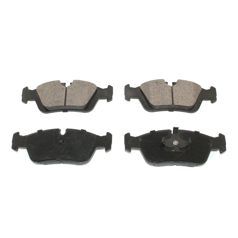 DuraGo BP781MS Front Semi-Metallic Brake Pad