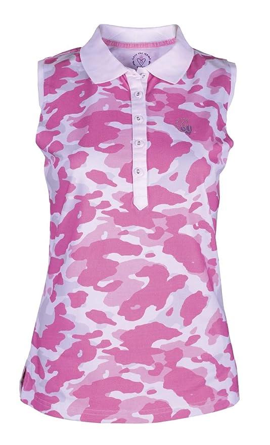 girls golf 14108 - Polo sin Mangas para Mujer, diseño de Camuflaje ...