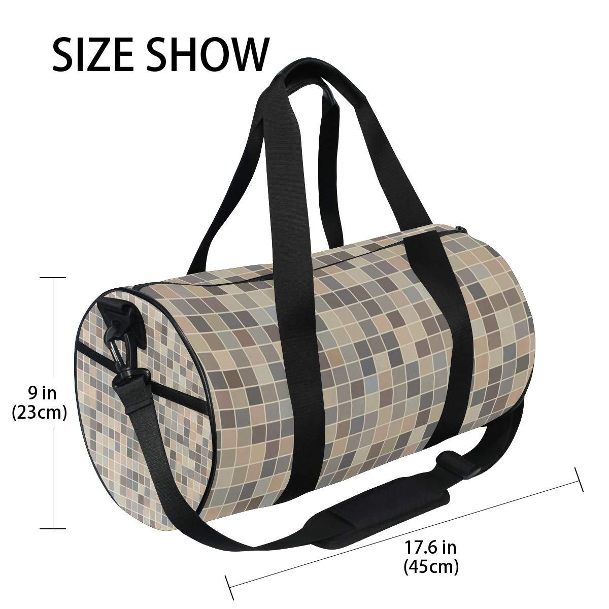 Ordinary Ceramic PictureWaterproof Non-Slip Wearable Crossbody Bag fitness bag Shoulder Bag