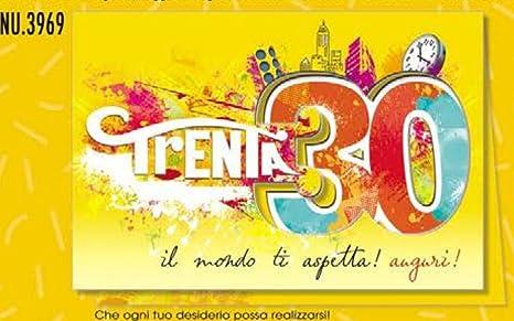 Tarjeta Felicitación cumpleaños 50 años el mundo Ti Aspetta ...