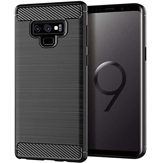 premium selection 870a6 ee899 Moment Dextrad for Note 9 Case,Anti-Fingerprint Protective Bumper Soft TPU  Cover with Shock-Absorption and Carbon Fiber Design for Samsung Galaxy Note  ...