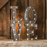 Darice 5915-713  Silver Metal Marquee Letter