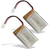 SYMA X5C - 2 Batteries, 3,7V 500mAh Li-Po