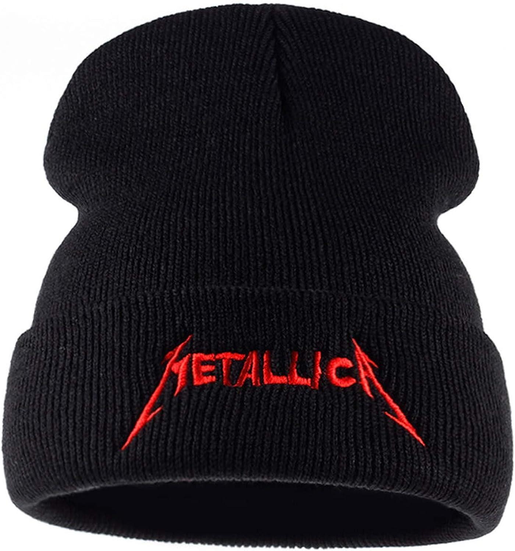 red Cap Band European and American Rock Music Winter hat Warm hat Men Women Street Cap Hats