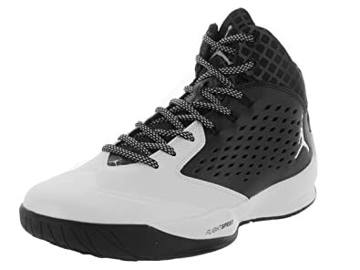 Nike Jordan Men's Jordan Rising High Black/White/Wlf Grey/Infrrd 23 Basketball Shoe 11 Men US