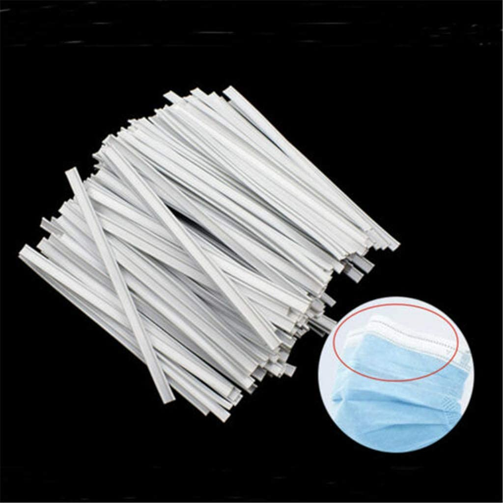 DIY Wire for Sewing Crafts Making DIY Crafting Projects Kit Cables Cords Warped String NEWHE PE Nose Bridge Strips Adjustable Nose Bracket Wrapped Straps