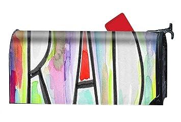 42310bf352e1 Amazon.com  Verna Christopher Magnetic Mailbox Cover - Rad ...
