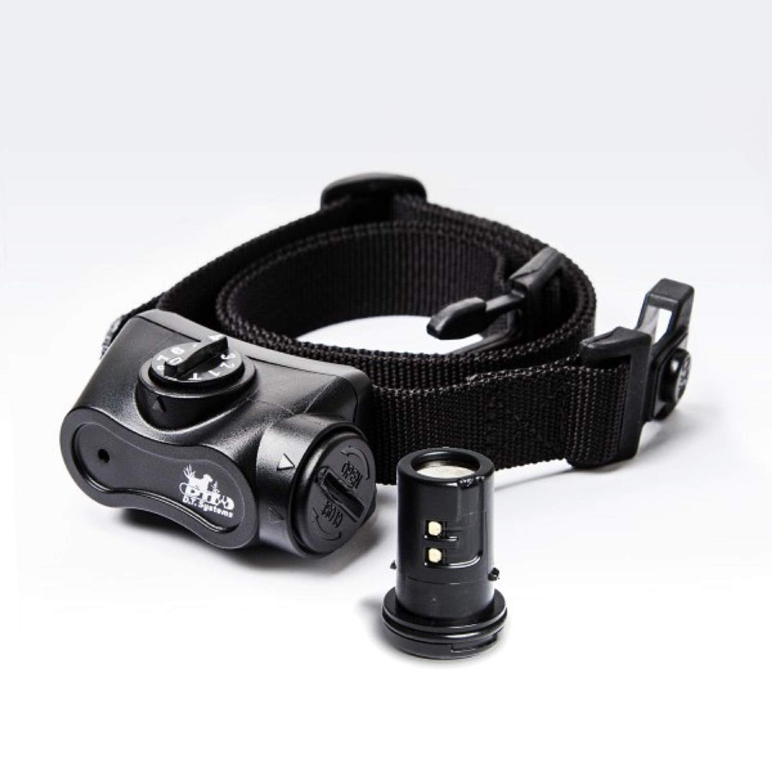 DT Systems, Bark Boss Electronic Dog Collar, Rechargeable, Black by DT Systems