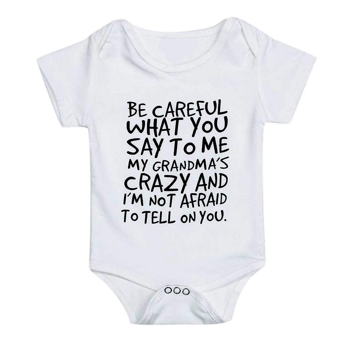 loozykit Baby Boys Girls Romper Summer Clothes Kids Playwear Letter Print Jumpsuit Infant Onesies Outfits Gift