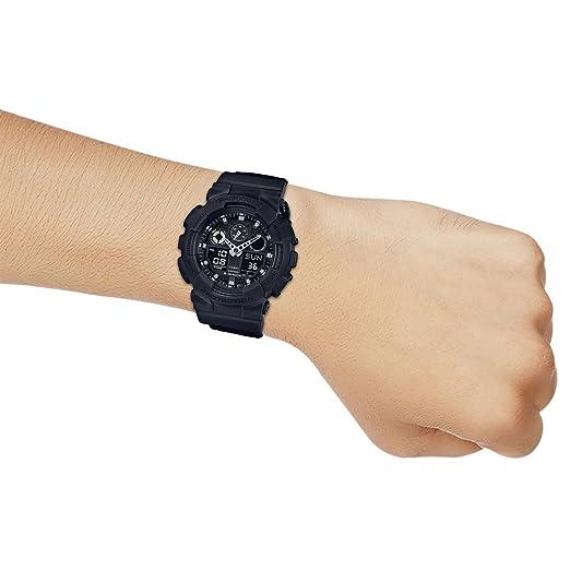 ad7ac1d4556 Relógio Casio - G-Shock - Pulseira de lona - GA-100BBN-1ADR  Amazon.com.br   Amazon Moda