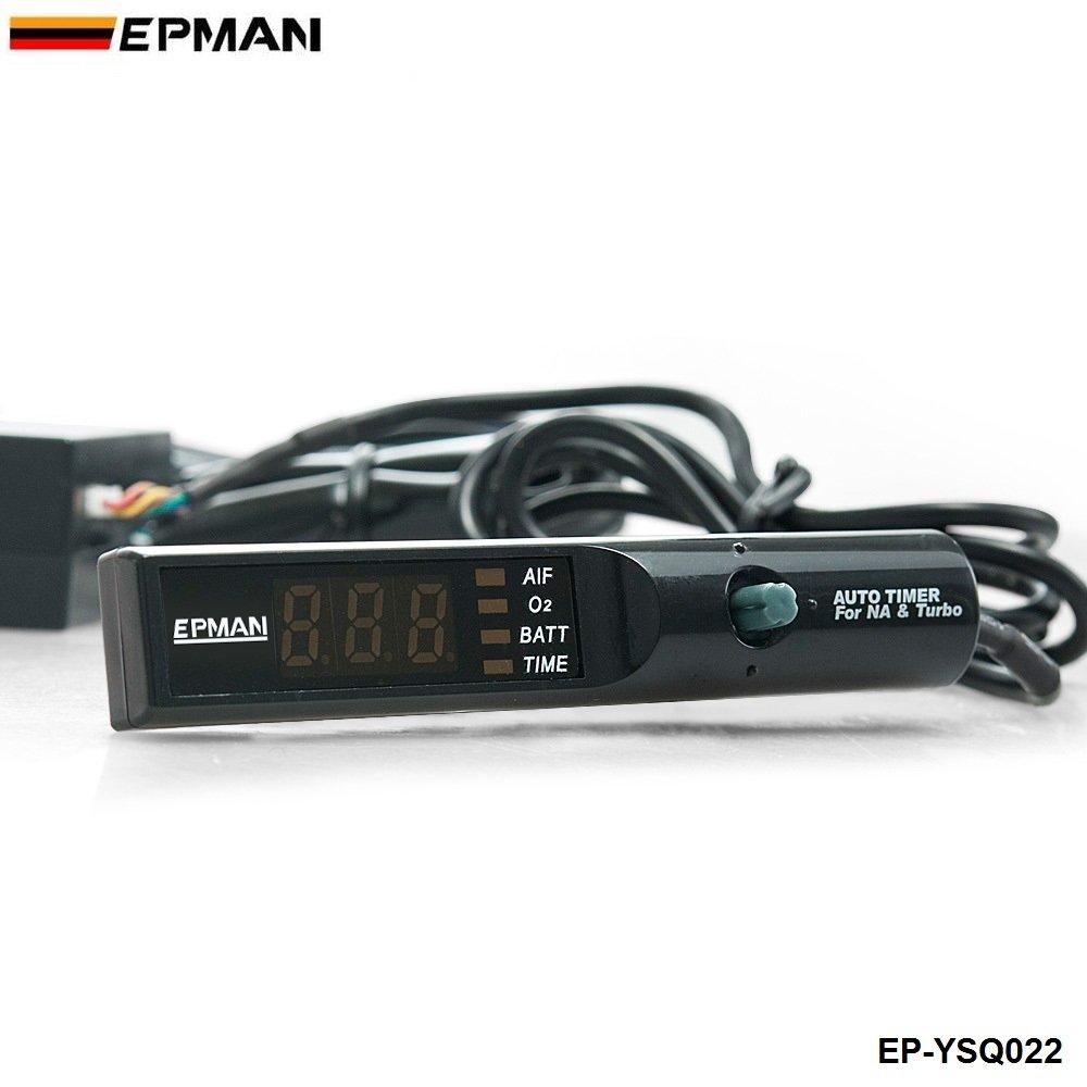 Amazon.com: EPMAN 12V Universal Pen Style LED Digital Display PSI Auto Idle Turbo Timer (Blue LED): Automotive