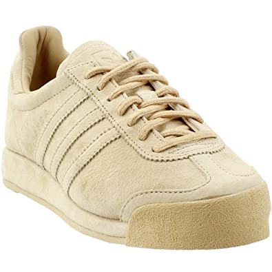 9a6d80e2d7f adidas Womens Samoa Vintage Casual Athletic   Sneakers Beige
