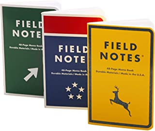 product image for Field Notes: Mile Marker - 3 Pack - Dot-Graph Memo Books, 3.5 x 5.5 Inch