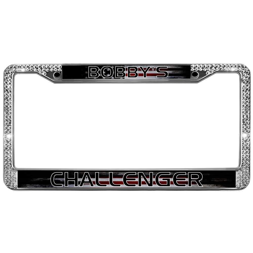 2X GMC SIERRA Stainless Steel License Plate Frame Rust Free W// Boltcap