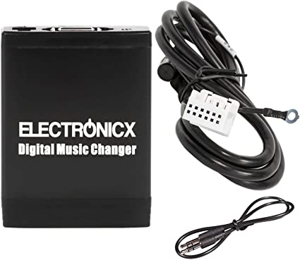 5 M changeur de CD faisceau câble 12-pin pour VW Radio RNS 2 RNS 510 MFD 2