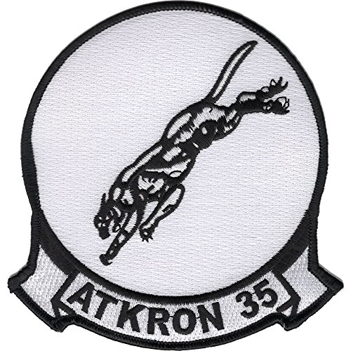 VA-35 Navy Attack Squadron Black Panthers Patch