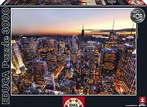 3,000 Piece Puzzle - Manhattan Sunset