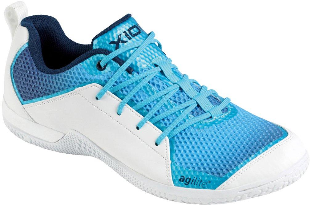 ティーエスピー 卓球 エクシオン シューズ フットワーク ブルー 095601 B06WP2NC15 25.5 cm