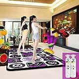 QXMEI Thickened Wireless TV Computer Dual-use Somatosensory Double Game Dance Mat 16595CN