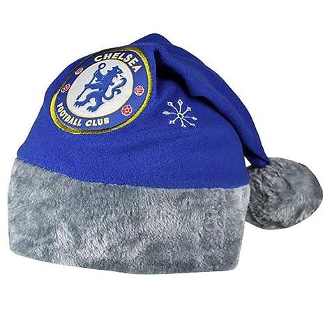 f4c6c2adf44e6 Amazon.com   Official Licensed Chelsea F.C - Adult Santa Hat ...
