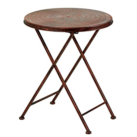 Awesome Amazon Com Retro Folding Small Table Can Be Used For Living Download Free Architecture Designs Intelgarnamadebymaigaardcom