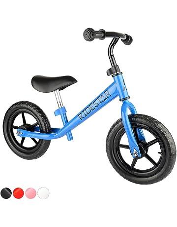 35c45d974e9 ToyStar Childrens Kids Balance Bike Metal Boys Girls Running Walking  Training Bicycle