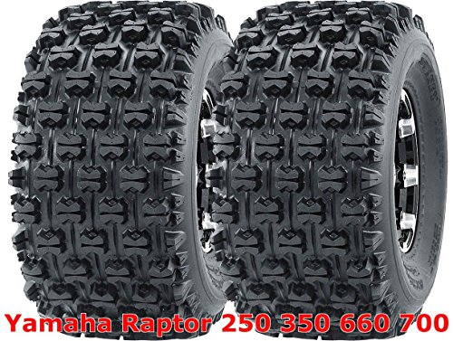 2 WANDA 20x10-9 20x10x9 Yamaha Raptor 250 350 660 700 rear GNCC Racing Tires (Yamaha Raptor Rims 350)