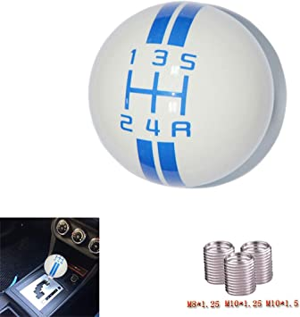 5 Speed Auto Gear Lever Shift Knob for Most Automatic Manual Vehicles Car Shifter Knob