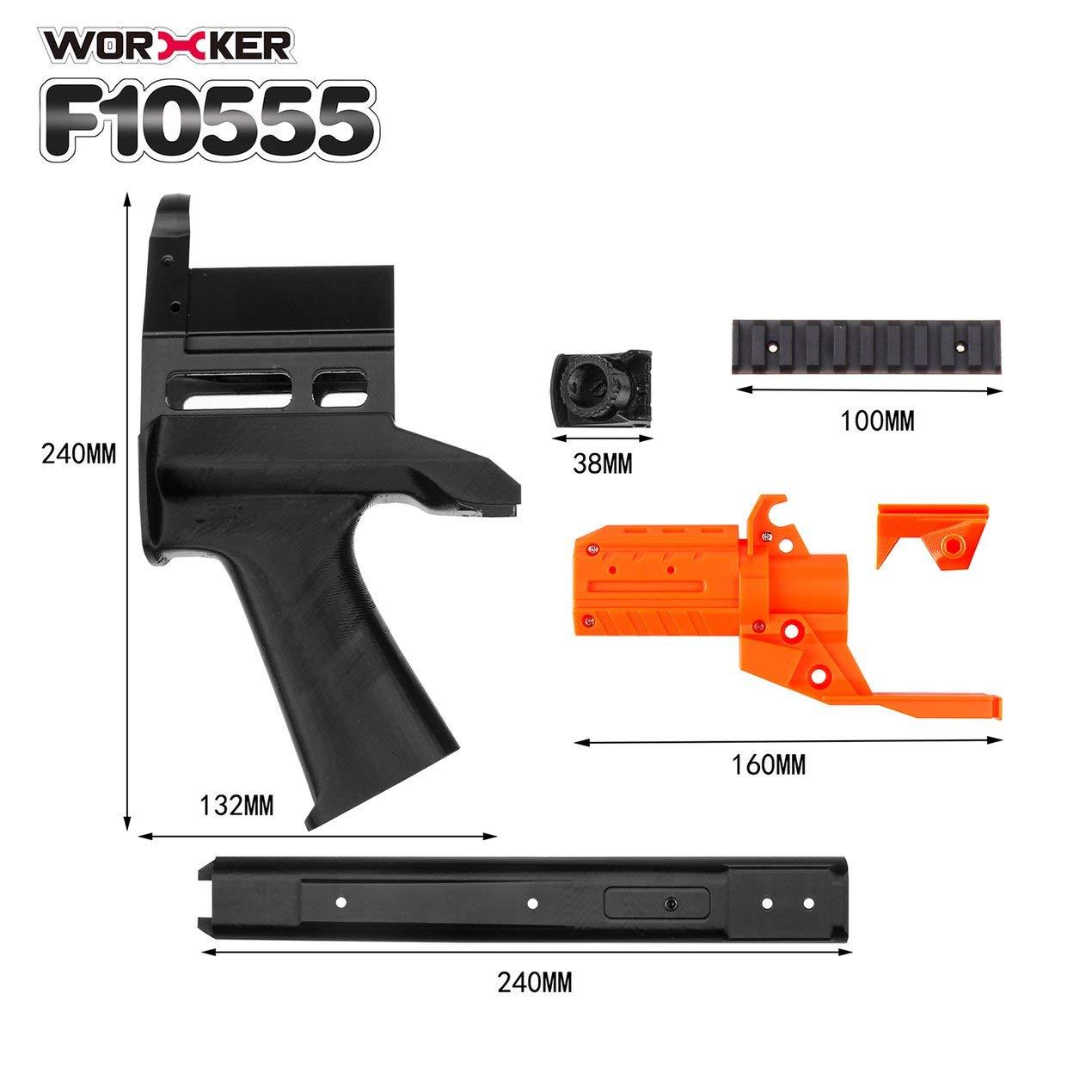Impresión 3D No.128 JSSAP SMG Delantero Kit Tubo + Tubo roscado ...