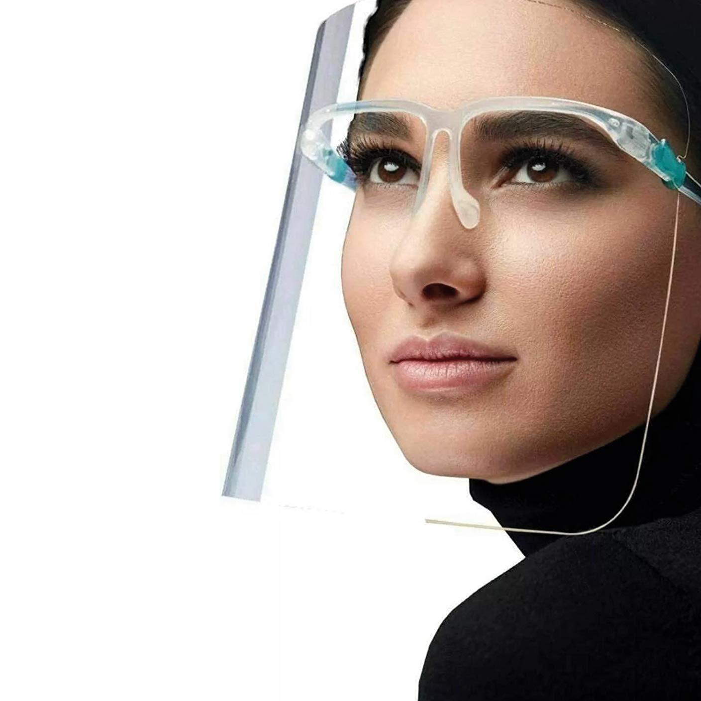 Keplin 10x Visors with Glasses
