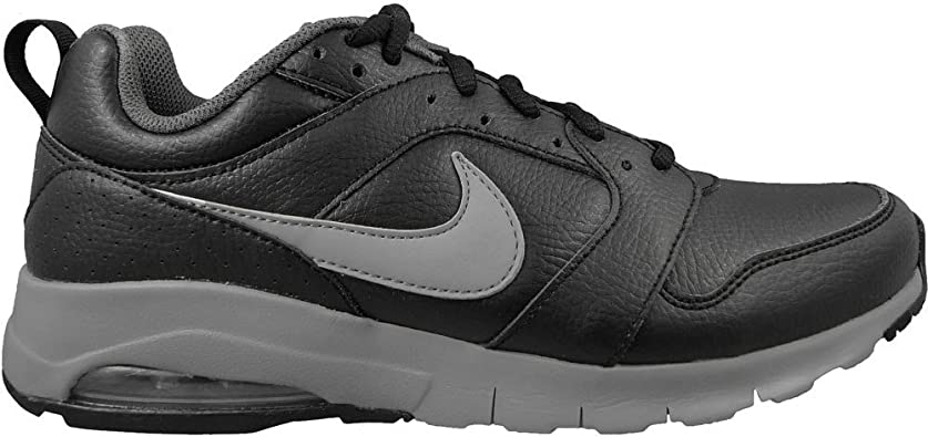Nike Zapatillas Air MAX Motion Leather Black/Wolf Grey Dark, Trail Running Unisex Adulto, Negro (Negro 858652 001), 41 EU: Amazon.es: Zapatos y complementos