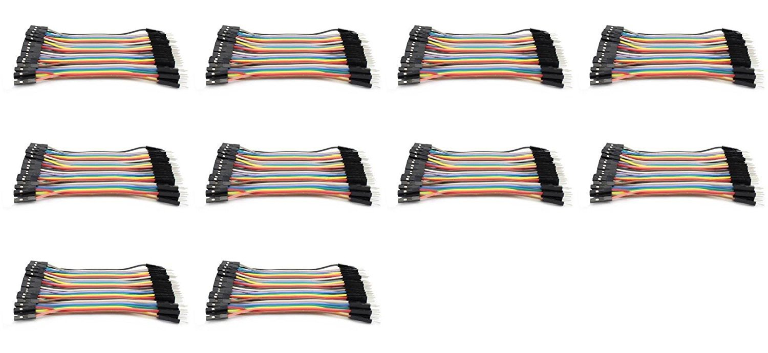 10 x Quantity of Walkera X350 Premium Dupont 40 Qty 10cm 2.54mm 1pin Female to Male Jumper Wire Cables - FAST FROM Orlando, Florida USA!