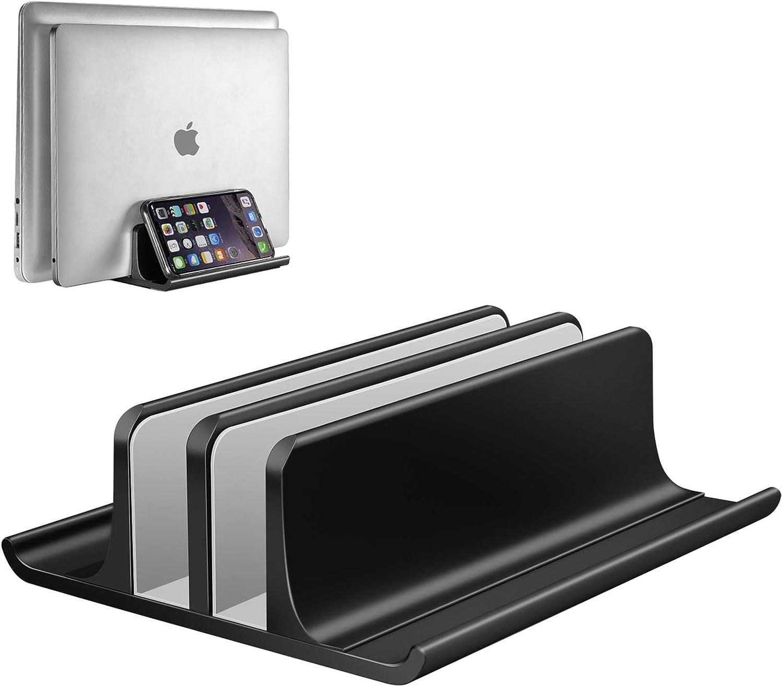 Vaydeer Vertikaler Laptop Ständer Verstellbarer Laptop Elektronik