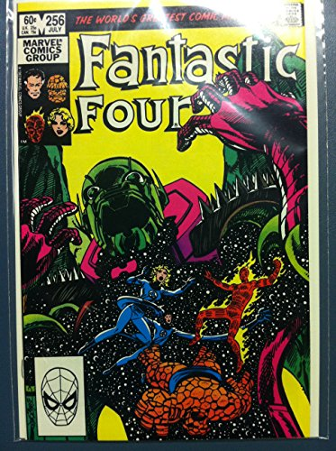 Fantastic Four #256 The Annihilation Gambit Jul 83 Near-Mint (7 out of 10) Very Lightly Used by Mickeys Pubs