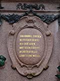 Home Comforts LAMINATED POSTER Mende Fountain Monument Leipzig Augustus Square Poster Print 24x16 Adhesive Decal