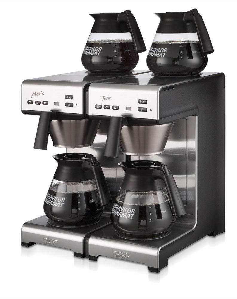 Bonamat Matic Twin, Café en la lavadora. Agua Incluye 4 jarras ...