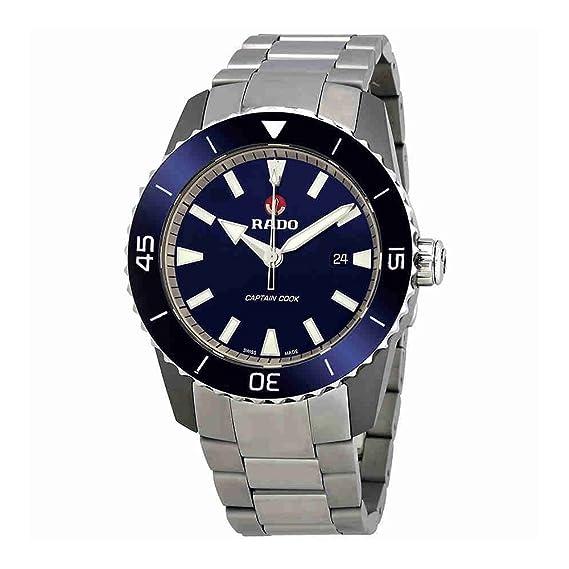 Amazon.com: Rado HyperChrome Captain Cook Automatic Mens Watch R32501203: Rado: Watches