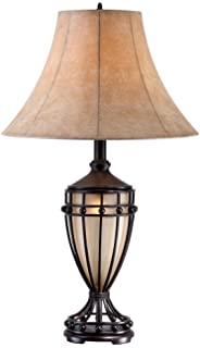 Open scroll rustic wrought iron table lamp amazon cardiff iron night light urn table lamp aloadofball Image collections