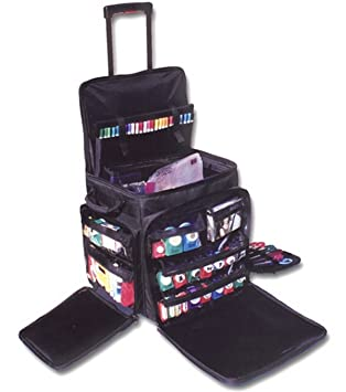Amazon.com: Crop In Style XXL Rolling Tote, Black: Arts, Crafts ...
