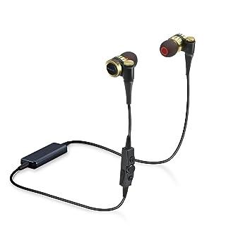 エレコム Bluetooth イヤホン HPC1000 φ9.8mmダイナミックドライバー採用 LDAC対応 ブラック LBT-HPC1000MPGD