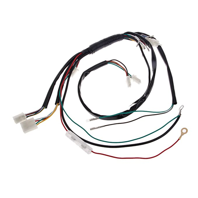 Bottone Electric Wire Wiring Harness Cdi Coil Assembly For 50 110cc
