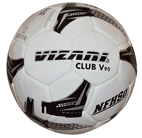VIZARI Pro Club V90 NFHS - Balón de fútbol (Talla 4), Color Blanco ...