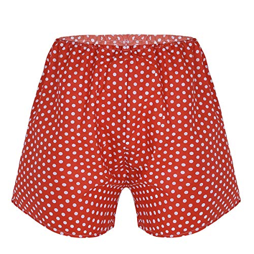 dPois Sexy Funny Plastic Fake Ass Butt Unisex Buttocks Shorts Panties Halloween Festival Costume Red(Polka dots) One Size(Waist: 50-120cm/ 20.0-47.0'')]()