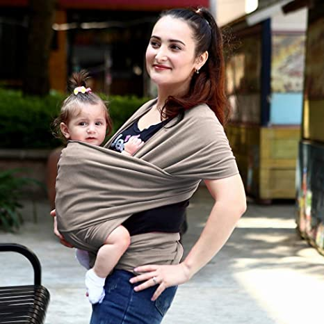 Amazon.com: ACEDA Baby Wrap Carrier, The Original Child and Newborn Sling, Perfect for Infants and Babies Up to 25 KG (0-36 Months),Dark Gray: Sports & ...