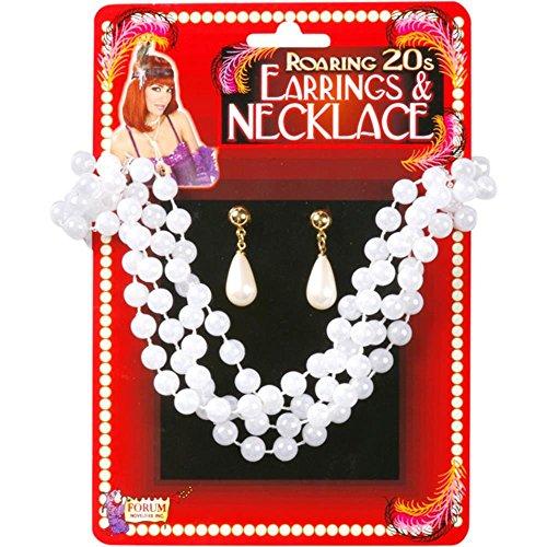 20's Teardrop Pearl Jewelry Set