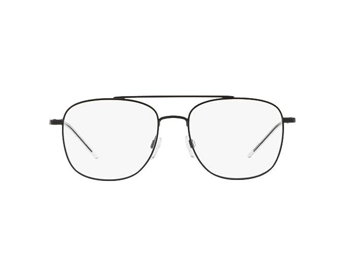 Emporio Armani 0EA1076, Monturas de Gafas para Hombre, Matte Black, 54