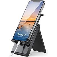 Lamicall Soporte Móvil, Multiángulo Soporte Teléfono - Soporte Dock Base para iPhone 12 Mini, 12 Pro MAX, 11 Pro, XS MAX…