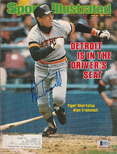 Alan Trammell Signed Auto'd Sports Illustrated Magazine Bas Coa Detroit Tigers A - Beckett Authentication