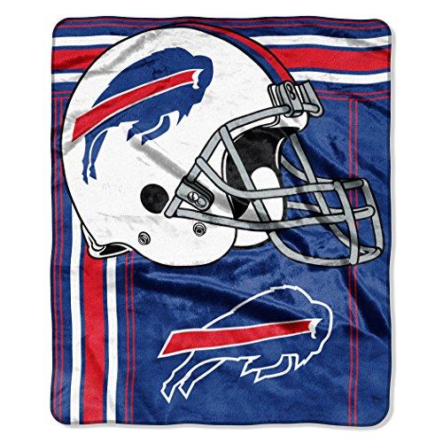 (The Northwest Company NFL Buffalo Bills Touchback Plush Raschel Throw, 50